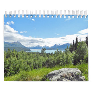 Small calender of wildlife and scenery wall calendar