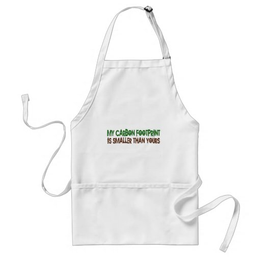 Small Carbon Footprint Aprons