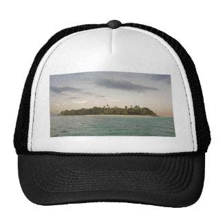 small caribbean island trucker hats