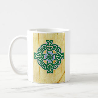 Small Celtic Cross (combo) mug (left)