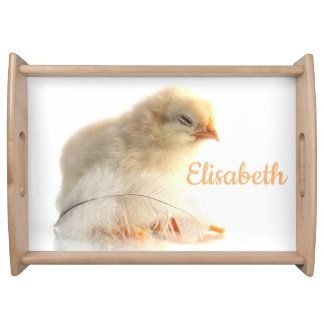 small chicken Personalize this template Serving Tray