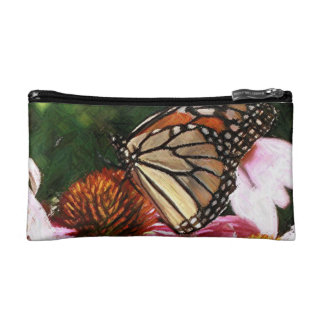 Small Colorful Butterfly Cosmetics Bag by Yotigo