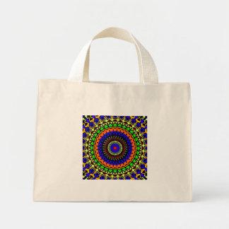 Small Colorful Circle Tote Bag