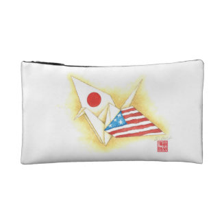 Small Cosmetic Bag ~ Japan-U.S. Friendship