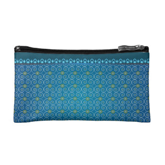 Small Cosmetic Blue Bag Makeup Bags