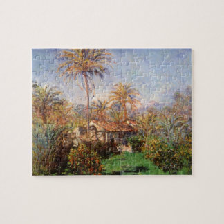 Small Country Farm in Bordighera by Claude Monet Jigsaw Puzzle