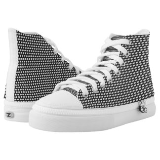 Small crystal sequins high tops