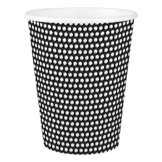 Small crystal sequins paper cup