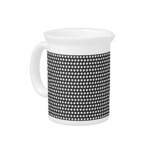 Small crystal sequins pitcher