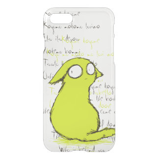 Small Cute Yellow-green Yokai Monster iPhone 7 Case
