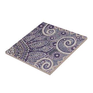 Small decorative tile