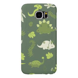 Small dinosaur Case for children Samsung Galaxy S6 Cases