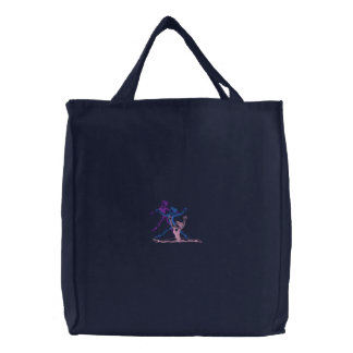 Small Drill Team Outline Embroidered Bags