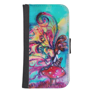 SMALL ELF OF MUSHROOMS SAMSUNG S4 WALLET CASE