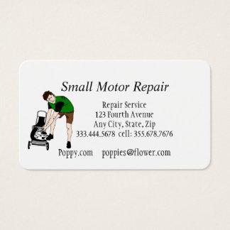 Small Engine Repair Custom Business Cards
