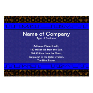 Small Fire Grid Business Card