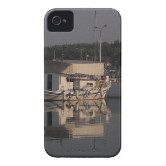 Small Fishing Boat iPhone 4 Cover