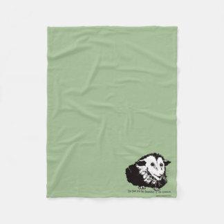 Small fleece blankie with possum