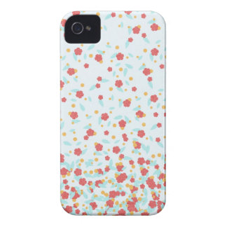 Small Floral Print iPhone 4/4S Case