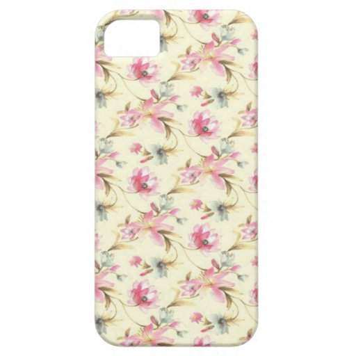 Small flowers iPhone 5 covers