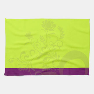 small flowers kitchen towel