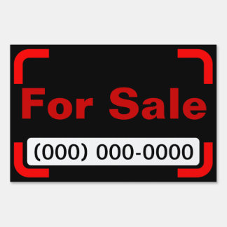 Small For Sale Yard Sign