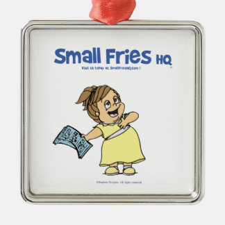 Small Fries HQ Angela Ornament Sq