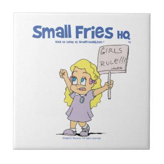 Small Fries HQ Ophelia Ceramic Tile