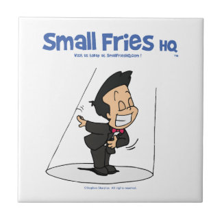 Small Fries HQ Oscar Ceramic Tile
