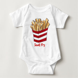 Small Fry Fast Food French Fries Foodie Baby Suit Baby Bodysuit