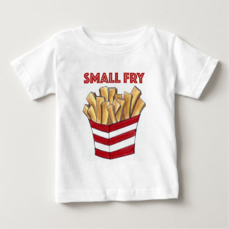 SMALL FRY Foodie French Fries Fast Food Baby Shirt