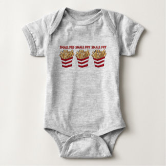 SMALL FRY Foodie French Fries Fast Food Gift Baby Bodysuit