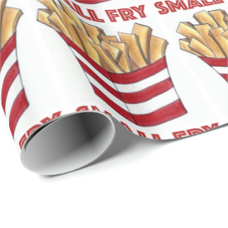 Small Fry Foodie French Fries Food Baby Gift Wrap