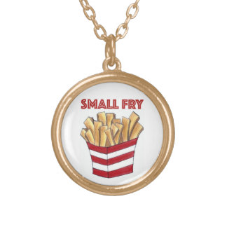 Small Fry French Fries Children's Foodie Necklace