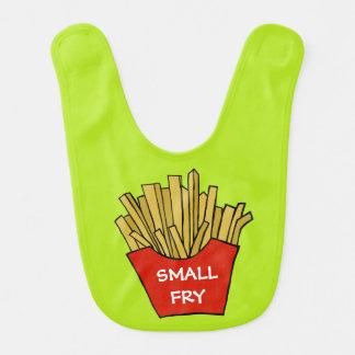 Small fry french fries design custom baby bib
