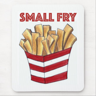 SMALL FRY French Fries Fast Food Junk Foodie Mouse Pad