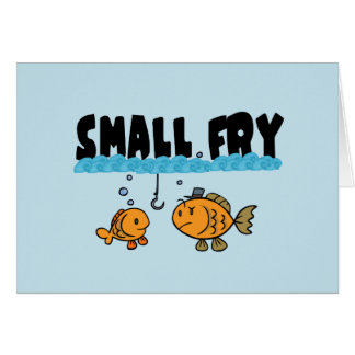 Small Fry Greeting Card