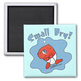 Small Fry Square Magnet