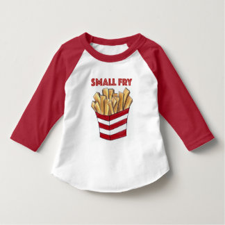 SMALL FRY Red White French Fries FoodToddler Tee