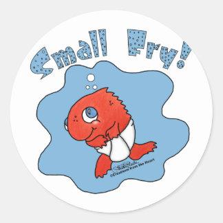 Small Fry Round Sticker