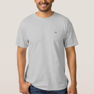 Small Grass Embroidered T-Shirt