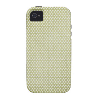 small green dots grungy iPhone 4/4S covers