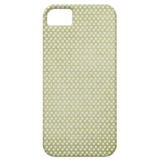 small green dots grungy iPhone 5 case