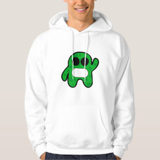Small, green monster hoodie