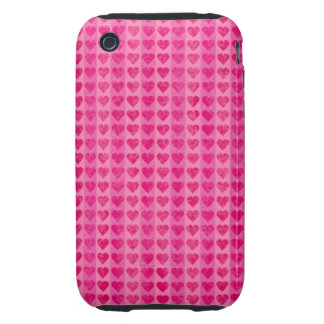 Small Hearts iPhone Case Tough iPhone 3 Case