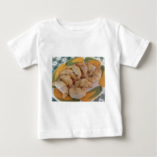 Small homemade salty croissants with sausage baby T-Shirt