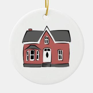 Small House Ceramic Ornament