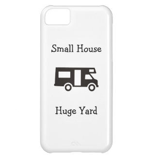 """Small House. Huge Yard"" RV Themed iPhone Case"