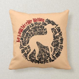 Small Italian greyhound Throw Pillow
