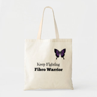 Small Keep Fighting Fibro Warrior Tote